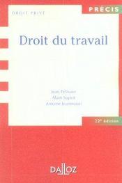 Droit du travail - Intérieur - Format classique