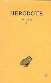 Histoires t.3 - Couverture - Format classique