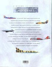 Atlas Illustre Des Avions De Guerre - 4ème de couverture - Format classique
