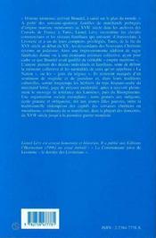 La nation juive portugaise ; Livourne, Amsterdam, Tunis, 1591-1951 - 4ème de couverture - Format classique