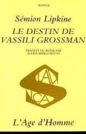 Destin Vassili Grossman - Couverture - Format classique