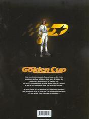 Golden cup t.1 ; Daytona - 4ème de couverture - Format classique