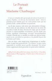 Le portrait de madame charbuque - 4ème de couverture - Format classique