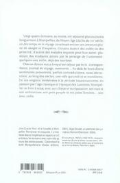 Voyage Et La Plume - 4ème de couverture - Format classique