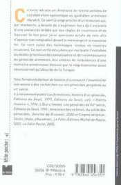 Eclats de voix recueil de textes, 1974-2005 - 4ème de couverture - Format classique