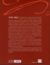 Rousseau et la Révolution - 4ème de couverture - Format classique