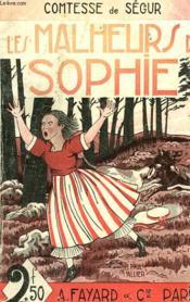 Les Malheurs De Sophie. - Couverture - Format classique