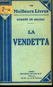 La Vendetta - Couverture - Format classique