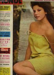 CINEMONDE - 32e ANNEE - N° 1549 - NOS 2 FILMS RACONTES: JUPON VOLE! avec MARLON BRANDO et BOURREAU DES COEURS / AIMEZ-VOUS LES FEMMES? - Couverture - Format classique