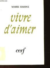 Vivre D'Aimer - Couverture - Format classique
