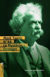 N°44, le mystérieux étranger - Couverture - Format classique
