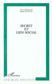 Secret Et Lien Social - Intérieur - Format classique