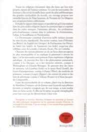 Sanctuaires du monde - 4ème de couverture - Format classique