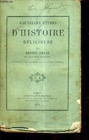 Nouvelles Etudes D'Histoire Religieuse. - Couverture - Format classique