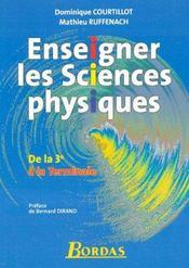 Enseigner les sciences physiques de la 3ème à la terminale (édition 2006) - Intérieur - Format classique