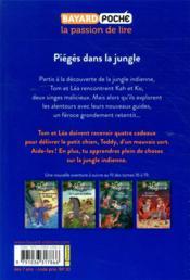 La cabane magique T.18 ; piégés dans la jungle - 4ème de couverture - Format classique