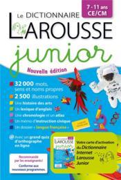 Le dictionnaire Larousse junior bimédia - Couverture - Format classique