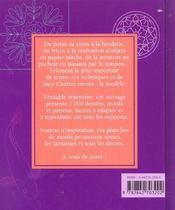 Dessins Motifs Et Patrons - 4ème de couverture - Format classique