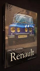 Aventure Automobile Renault - Couverture - Format classique