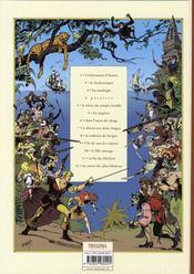 Les fils de l'aventure t.3 ; les naufragés - 4ème de couverture - Format classique