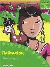 Halimatou - Couverture - Format classique