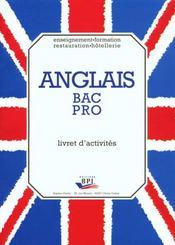 Anglais bac pro livret d'exercices - Intérieur - Format classique