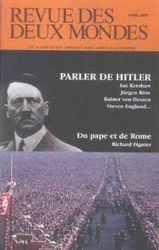 Revue des deux mondes ; 04/2005 - Intérieur - Format classique