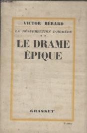 Le Drame Epique. - Couverture - Format classique