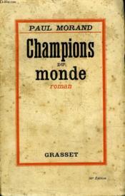 Champions Du Monde. - Couverture - Format classique