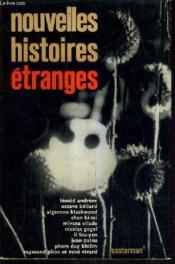 Nouvelles Histoires Etranges. - Couverture - Format classique