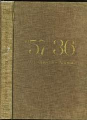 1957 36 th - ART DIRECTORS ANNUAL - Couverture - Format classique