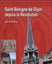 Saint benigne de dijon - Couverture - Format classique