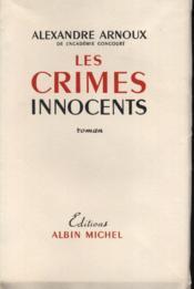 Les crimes innocents. - Couverture - Format classique