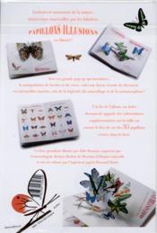 Papillons illusions - 4ème de couverture - Format classique