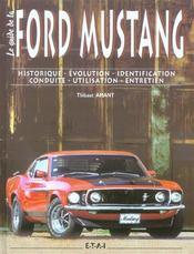 La ford mustang - le guide - Intérieur - Format classique