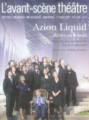 Aziou liquid ; rêves au travail - Intérieur - Format classique