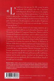 Histoire de l'angleterre - 4ème de couverture - Format classique
