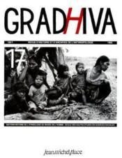 Revue Gradhiva N.17 - Couverture - Format classique
