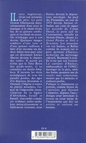 Enrico macias - 4ème de couverture - Format classique