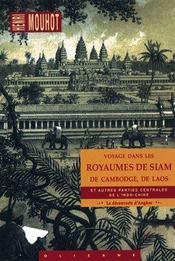 Voyage dans les royaumes de Siam - Intérieur - Format classique