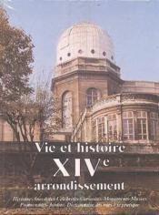 Vie et histoire xiv arrondissement paris - Couverture - Format classique
