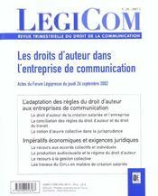 Legicom N 29 - Intérieur - Format classique