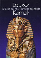 Louxor, Karnark ; la vallée des rois ; la vallée des reines - Intérieur - Format classique