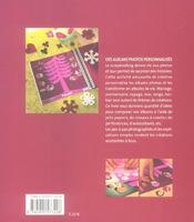 Scrapbooking ; Pages D'Album - 4ème de couverture - Format classique