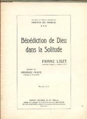 Benediction De Dieu Dans La Solitude. - Couverture - Format classique