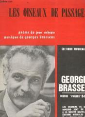Les Oiseaux De Passagie - Piano Et Chant. - Couverture - Format classique