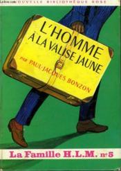 L Hommme A La Valise Jaune - Couverture - Format classique