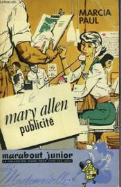Mary Allen, Publicite - Mary Allen, Publicity Girl - Couverture - Format classique