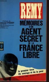 Memoires D'Un Agent Secret De La France Libre - Couverture - Format classique