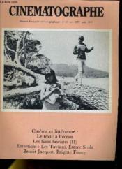 Cinematographe N°31 - Cunema Et Litterature: Le Texte A L'Ecran - Couverture - Format classique